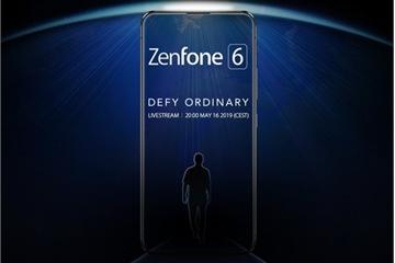 Asus Zenfone 6 tung ảnh không tai thỏ, màn hình tràn viền