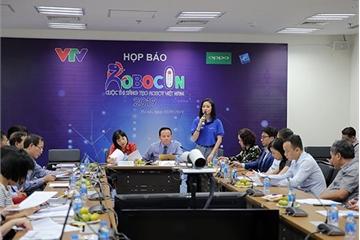 Chung kết cuộc thi sáng tạo Robot Việt Nam 2019 sắp diễn ra ở Hải Dương