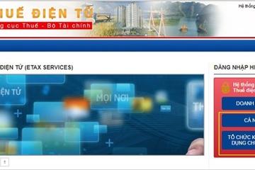 Hà Nội chính thức triển khai hệ thống dịch vụ thuế điện tử