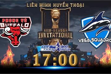 17h hôm nay, xem trực tiếp trận giành vé cuối cùng của vòng bảng Liên Minh Huyền Thoạitrên VTVcab