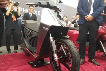 Lộ ảnh xe máy điện mới toanh của VinFast