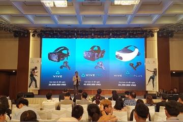 HTC tung loạt kính thực tế ảo tại Việt Nam dành cho cá nhân và doanh nghiệp