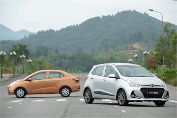 Hyundai Accent và Grand i10 đồng loạt giảm doanh số