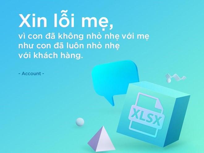 Bo anh 'Xin Loi Me' cua dan agency VN gay bao mang hinh anh 3
