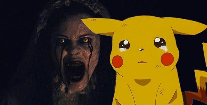 Di xem Pikachu gap phim kinh di, hang tram tre khoc thet tai rap hinh anh 1