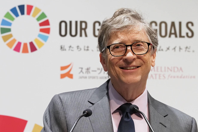 Trong 100 phut, Bill Gates kiem tien bang nguoi khac cat luc ca doi hinh anh 1