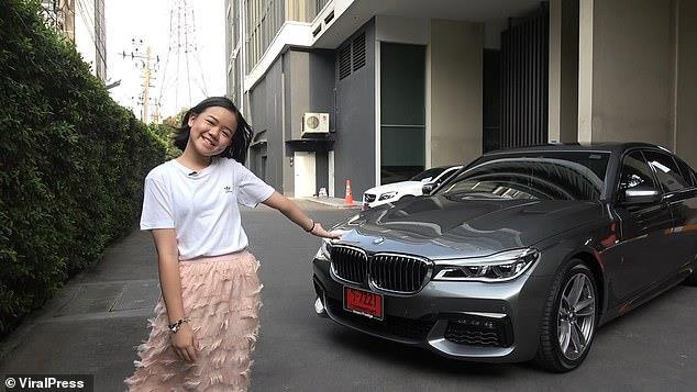 Vlogger Thái mua BMW 7 Series mừng sinh nhật 12 tuổi