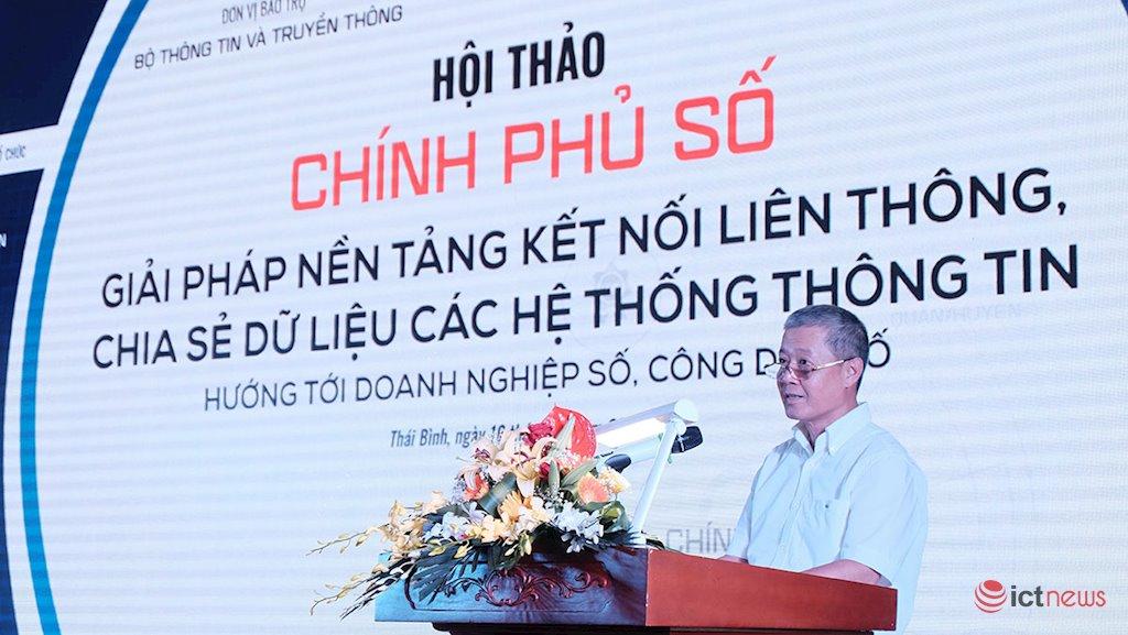 Thứ trưởng Bộ TT&TT Nguyễn Thành Hưng: Dữ liệu số là một nhân tố quan trọng trong nền kinh tế số | Chia sẻ dữ liệu đang là nút thắt rất lớn trong phát triển Chính phủ điện tử