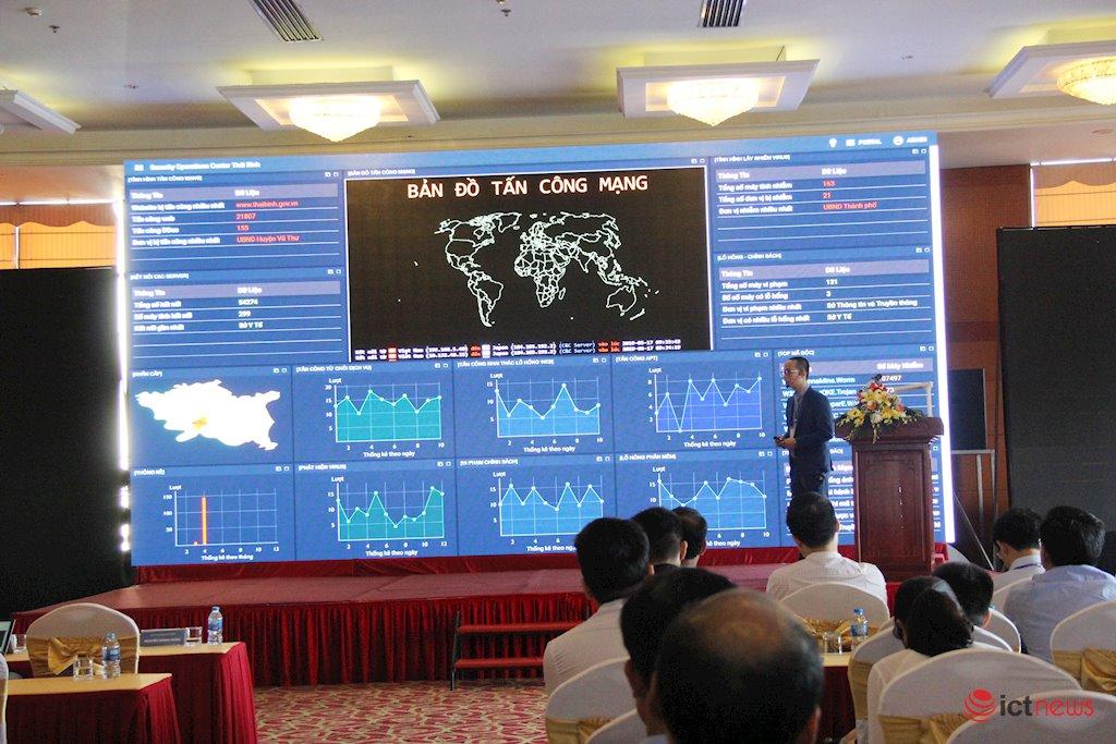 Thái Bình khai trương Trung tâm điều hành an ninh mạng | Khai trương mô hình Trung tâm điều hành an ninh mạng kiểu mẫu đầu tiên tại Việt Nam