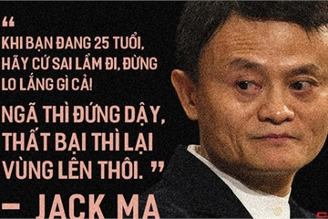 Lời khuyên đắt giá từ tỷ phú Jack Ma để học cách đối mặt với lời từ chối: Hãy coi đó là cơ hội giúp bạn phát triển!