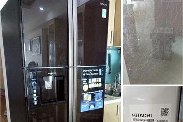Tủ lạnh HITACHI bỗng dưng phát tiếng nổ, người tiêu dùng hoang mang