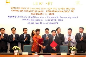 Hà Nội quảng bá về văn hóa, lịch sử, con người Thủ Đô trên kênh CNN