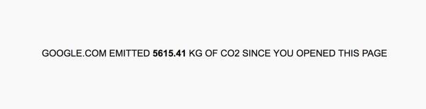 Mỗi một lần bạn tìm kiếm trên Google, Trái Đất sẽ ô nhiễm thêm như thế này đây - Ảnh 2.
