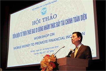 Bộ trưởng Nguyễn Mạnh Hùng: Mobile Money thâm nhập thị trường nông thôn và số hoá chuỗi giá trị nông nghiệp