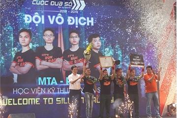 Sinh viên Học viện Kỹ thuật Quân sự đoạt ngôi Vô địch Cuộc đua số mùa thứ ba