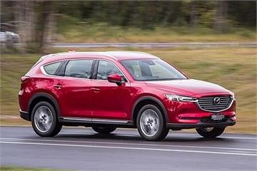 Mazda CX-8 lộ giá bán 3 phiên bản tại đại lý