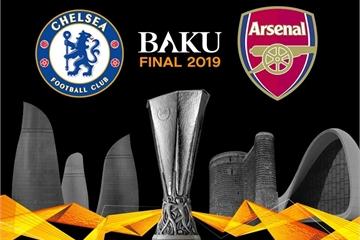 Kèo bóng đá chung kết Europa League 2019: Chelsea vs Arsenal