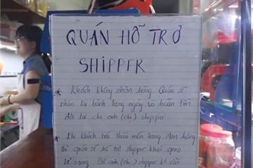 Tài xế công nghệ xúc động vì hành động hỗ trợ shipper của chủ quán bán bánh tráng