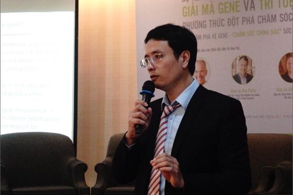 Tiến sĩ Google về Việt Nam mong phát triển ngành chăm sóc sức khoẻ chính xác