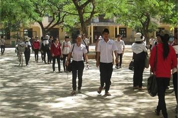 Lịch thi vào lớp 10 năm 2019 ở Quảng Ngãi cập nhật