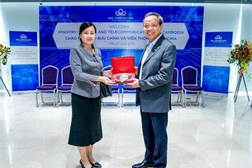 CMC muốn cung cấp dịch vụ viễn thông cho Tiểu vùng sông Mê Kông