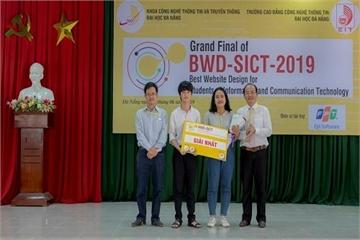 Cuộc thi thiết kế website: Sân chơi cho sinh viên ngành CNTT-TT