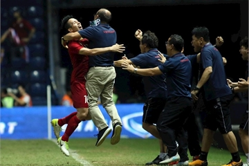 """Sau chiến thắng trước Thái Lan, người hâm mộ Việt Nam search """"Curacao là đội nào?"""""""