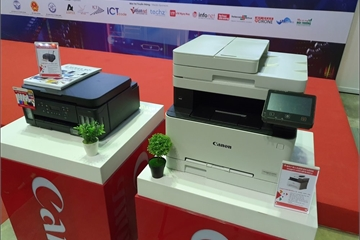 Canon ra mắt loạt máy in phun, in laser dành cho doanh nghiệp vừa và nhỏ