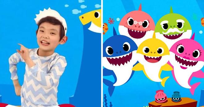 Hien tuong mang 'Baby Shark' se duoc lam thanh phim hoat hinh hinh anh 1