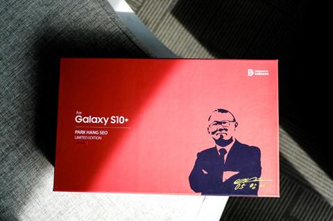 Chi tiết Galaxy S10+ phiên bản Park Hang-seo cho fan bóng đá Việt Nam