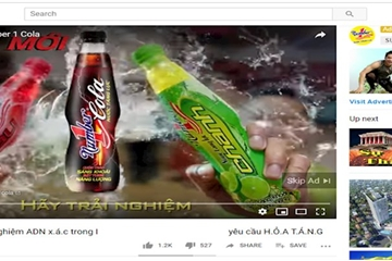 Quảng cáo của nhiều thương hiệu lớn xuất hiện trong clip có nội dung phản động trên YouTube