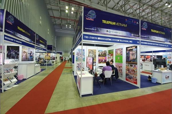 Nhiều doanh nghiệp trong và ngoài nước tham gia Triển lãm Quốc tế Phim và Công nghệ Phát thanh, Truyền hình