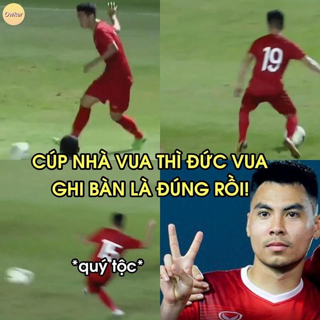 Anh che 'nha vua' Duc Huy sang nhat tran chung ket King's Cup 2019 hinh anh 9