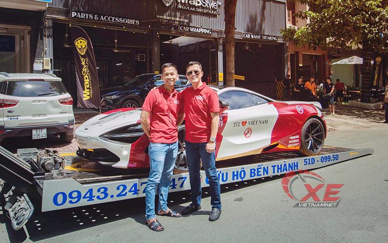 Gian nan 'rước' siêu xe triệu đô McLaren 720S về Việt Nam