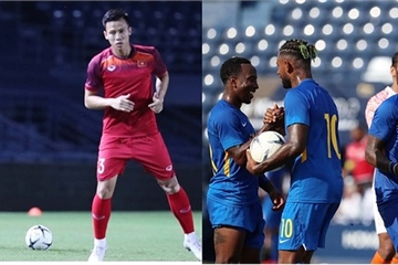 Hé lộ đội hình của 2 đội Việt Nam vs Curacao trước trận chung kết King's Cup 2019