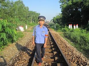 Đường sắt có phần mềm giám sát tuần đường, ngăn tai nạn chủ quan