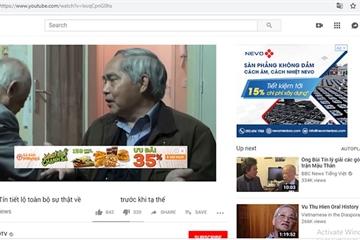Bộ TT&TT yêu cầu hàng chục nhãn hàng lớn dừng quảng cáo trong các clip phản động trên YouTube