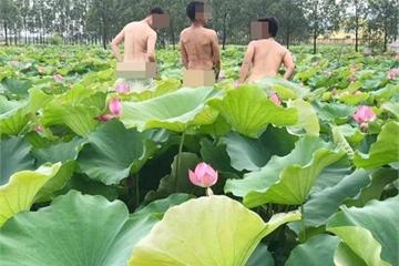 Mùa hè - thời điểm giới trẻ thi nhau chụp nude, phản cảm với hoa sen?
