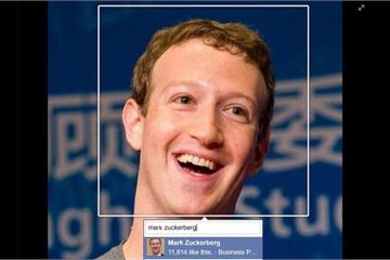 """Rùng mình với độ """"cáo già"""" của Facebook: Thoáng hiện mặt trên TV cũng bị tóm trong một nốt nhạc"""