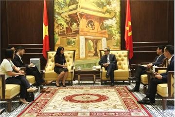 CEO Go-Viet Lê Diệp Kiều Trang đề nghị Bộ TT&TT ủng hộ các công ty công nghệ