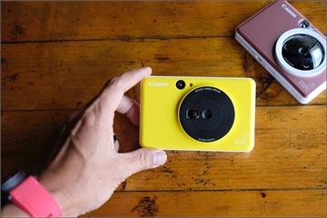 Canon lần đầu ra mắt máy chụp ảnh lấy liền, nhiều màu sắc