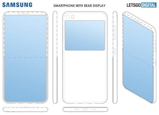Samsung phat trien dien thoai 2 man hinh, khong camera selfie? hinh anh 1