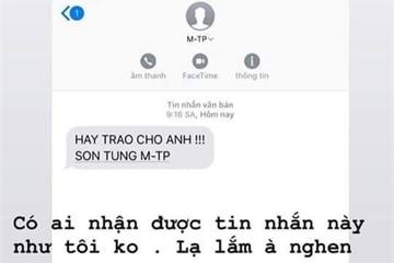 Vì sao Sơn Tùng M-TP lại nhắn tin được cho cả tá người dù có khi chưa hề biết mặt?