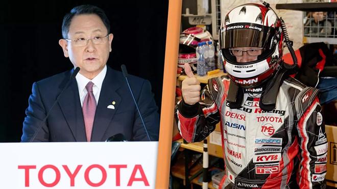 Chu tich Toyota dung ten gia de tham gia dua xe hinh anh 2