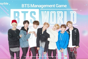 """""""Chống đạn thiếu niên đoàn"""" BTS xuất hiện độc quyền trong game đầu tiên về K-pop"""