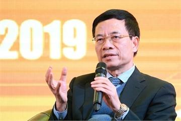 Bộ trưởng Nguyễn Mạnh Hùng: Chính phủ sẽ sử dụng biện pháp pháp lý, kinh tế, kỹ thuật để yêu cầu Facebook, Google tuân thủ luật pháp Việt Nam