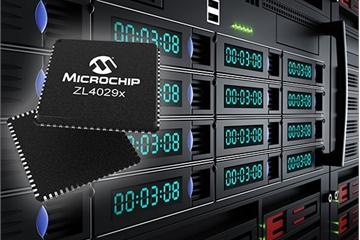 Microchip ra mắt 4 dòng bộ đệm Clock mới dành cho các ứng dụng trung tâm dữ liệu
