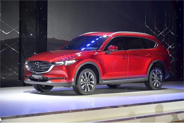 Chi tiết Mazda CX-8 vừa ra mắt thị trường Việt Nam