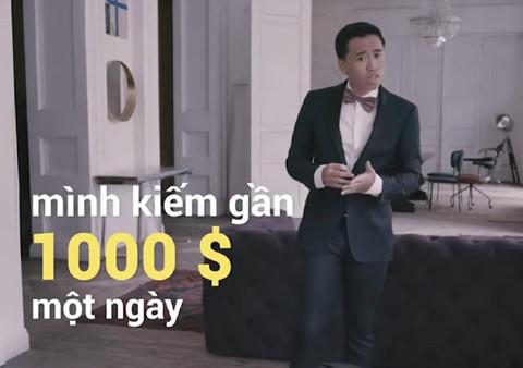 Thuc hu chuyen kiem 1.000 USD/ngay gay xon xao tren YouTube Viet Nam hinh anh 1