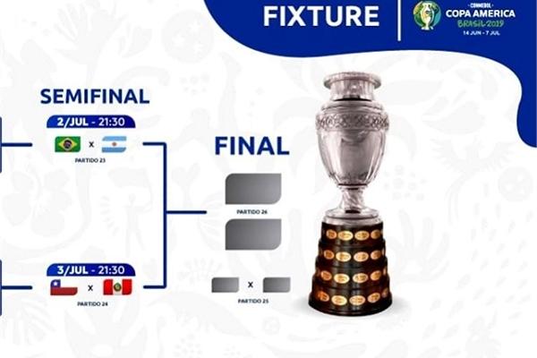Xem bóng đá trận Brazil vs Argentina, bán kết Copa America 2019, miễn phí trên mạng